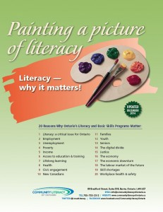 Literacy Why It Matters front page