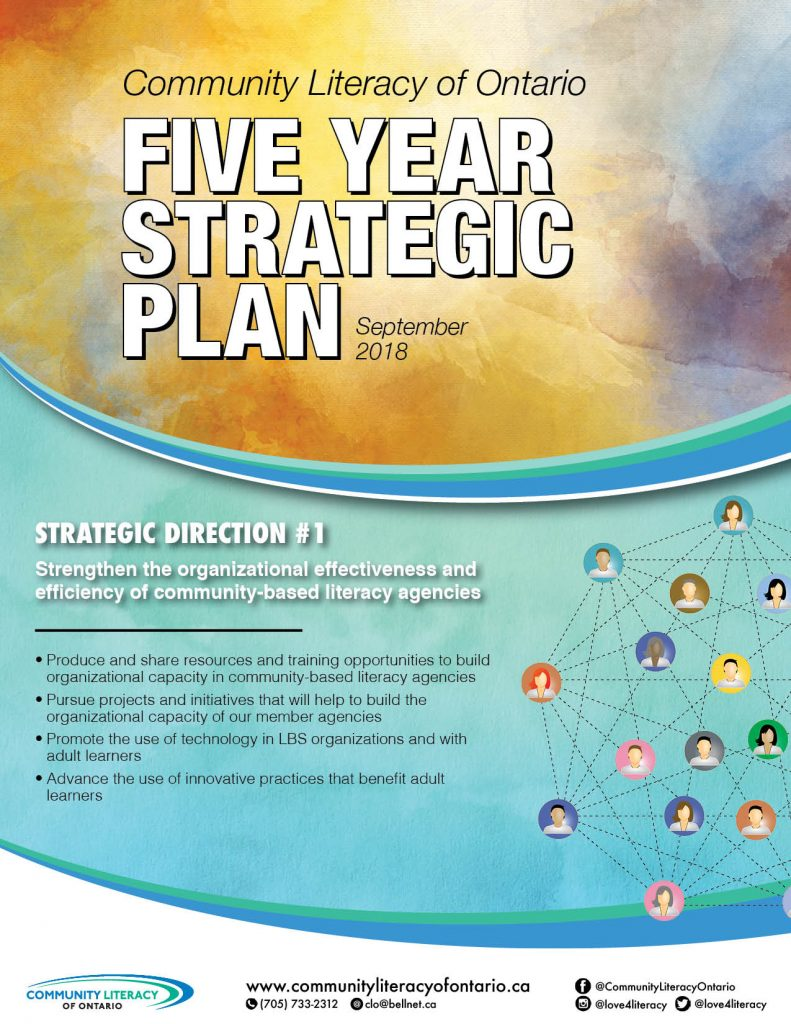 2018 Strategic Plan - page 1