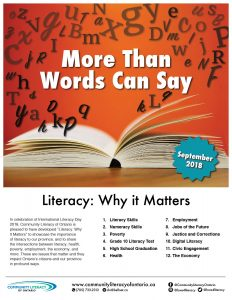 Literacy Why it Matters 2018 - Cover
