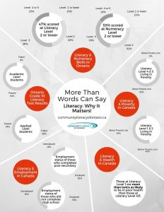 Literacy - Why It Matters! Infographic
